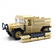 Humvee Army Pickup with Sandbags