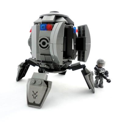 Space Drop Pod - Grey