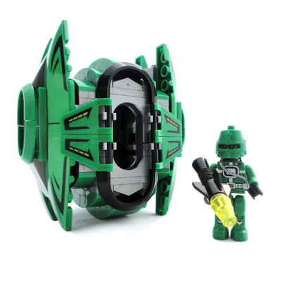Space Drop Pod - Green