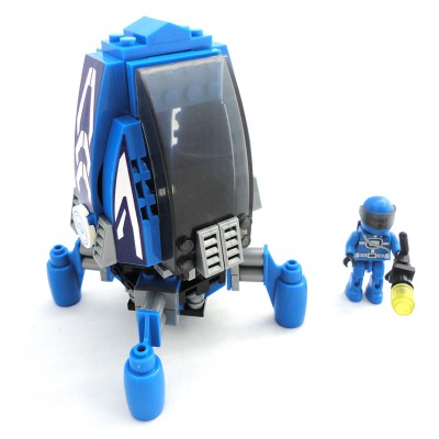 Space Drop Pod - Blue