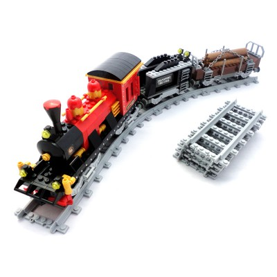 Steam Lumber Train