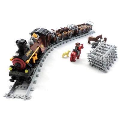 Steam Livestock Train