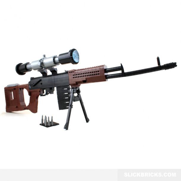 Dragunov SVD Sniper Rifle | Slick Bricks