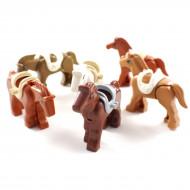 Building Block Horses x6