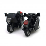 Black Motorcycles x4