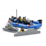 Police Boat and Jetski