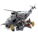Medium Military Helicopter