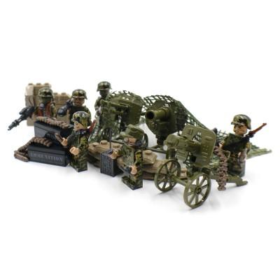 Woodland Camo Artillery Squad