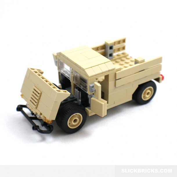 Humvee Army Pickup Slick Bricks