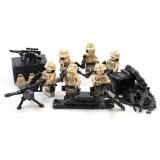 Desert Marine Minifigures