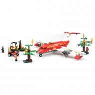 Fire Rescue Plane