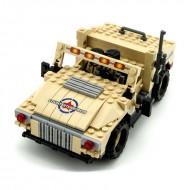 Armoured Desert Humvee