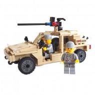 Desert Army Jeep