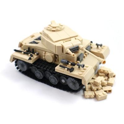 German Light Desert Tank