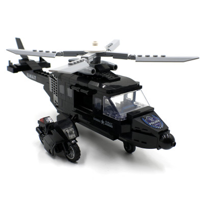 Police SWAT Helicopter