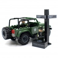 Military Officer Jeep