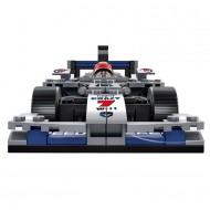 Silver Grand Prix Car