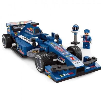 Blue Grand Prix Car