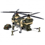 Military Cargo Helicopter