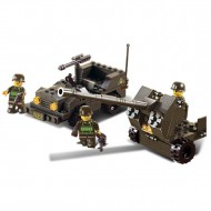 Army Jeep and Artillery