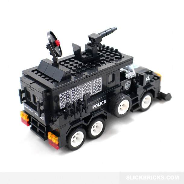 how to build a lego swat truck