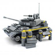Grey Army Tank